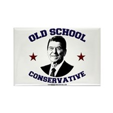 Old School Conservative Rectangle Magnet