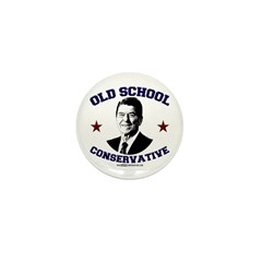 Old School Conservative Mini Button