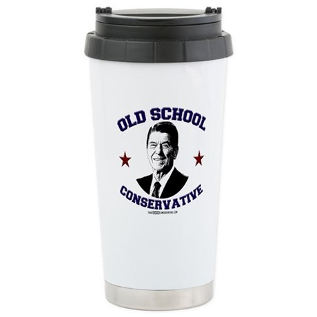 Old School Conservative Stainless Steel Travel Mug