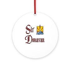 Sir Donavan Ornament (Round)