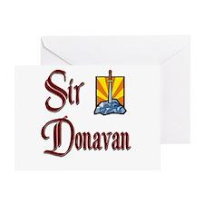 Sir Donavan Greeting Card