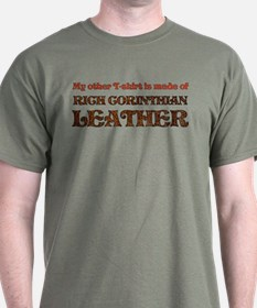 Funny Corinthian Leather T-Shirt