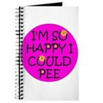 I'm So Happy I Could Pee! Journal