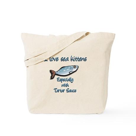 I love sea kittens Tote Bag