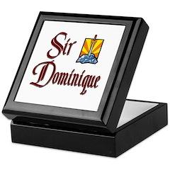 Sir Dominique Keepsake Box
