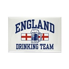 English Drinking Team Rectangle Magnet