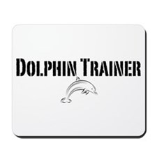 Dolphin Trainer Light Mousepad
