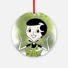Glutton Free Humor Ornament (Round)