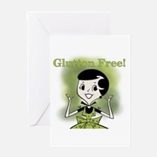 Glutton Free Humor Greeting Card