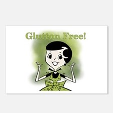 Glutton Free Humor Postcards (Package of 8)
