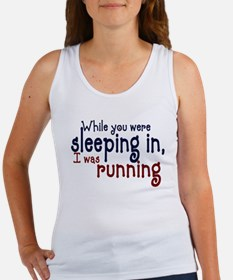 Sleeping in Women's Tank Top