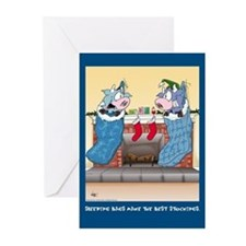 Sleeping Bags (Xmas Cards Greeting Cards 10 Pk)