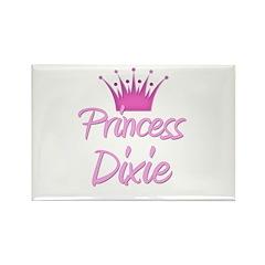 Princess Dixie Rectangle Magnet
