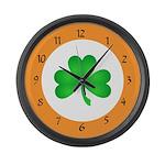 Irish Clocks Large Wall Clock