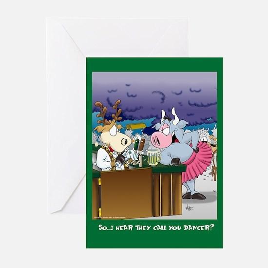 Dancer (Xmas Greeting Cards 10 Pk)
