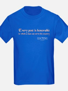 Honor - Kids Blue T-Shirt