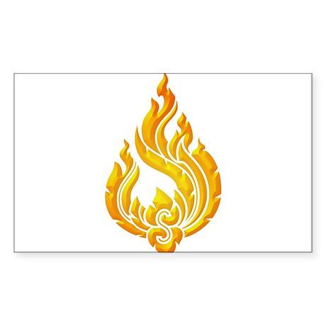 Granok Symbol Rectangle Sticker