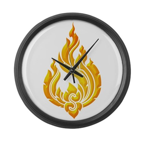 Granok Symbol Large Wall Clock