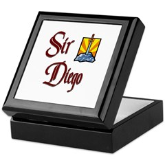 Sir Diego Keepsake Box