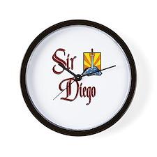 Sir Diego Wall Clock