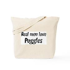 Men have Puggles Tote Bag