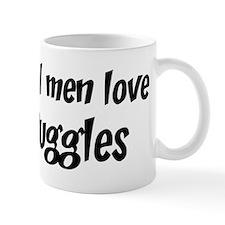 Men have Puggles Small Mug