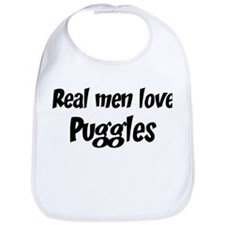Men have Puggles Bib