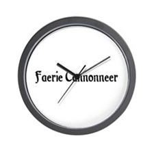 Faerie Cannonneer Wall Clock