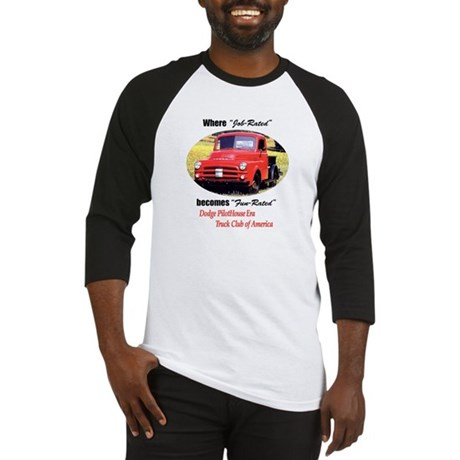 Dodge Pilothouse Truck Club Baseball Jersey