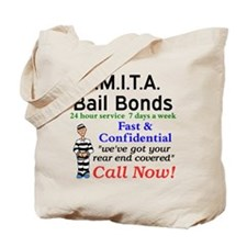 PMITA Bail Bonds Tote Bag