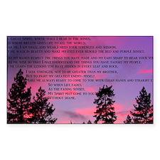 Lakota Great Spirit Prayer Decal