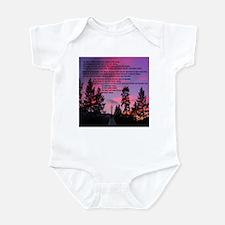 Lakota Great Spirit Prayer Infant Bodysuit