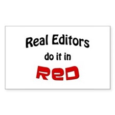 Real Editors - Rectangle Decal