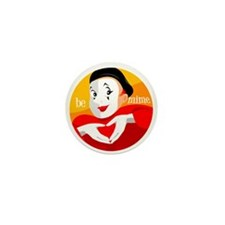Be Mime Mini Button