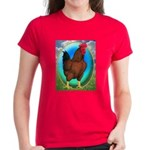 Broiler Opal Chicken Women's Dark T-Shirt