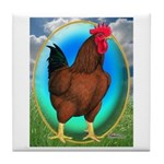 Broiler Opal Chicken Tile Coaster