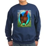 Broiler Opal Chicken Sweatshirt (dark)