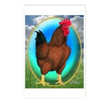 Broiler Opal Chicken Postcards (Package of 8)