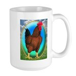 Broiler Opal Chicken Large Mug