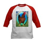 Broiler Opal Chicken Kids Baseball Jersey