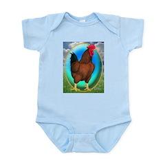 Broiler Opal Chicken Infant Bodysuit