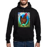 Broiler Opal Chicken Hoodie (dark)