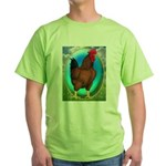 Broiler Opal Chicken Green T-Shirt