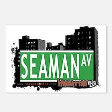 SEAMAN AVENUE, MANHATTAN, NYC Postcards (Package o