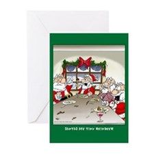 Ate Reindeer (Xmas Cards Greeting Cards 10 Pk)