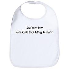 Men have Nova Scotia Duck Tol Bib