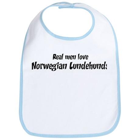 Men have Norwegian Lundehunds Bib