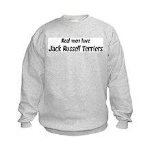 Men have Jack Russell Terrier Sweatshirt