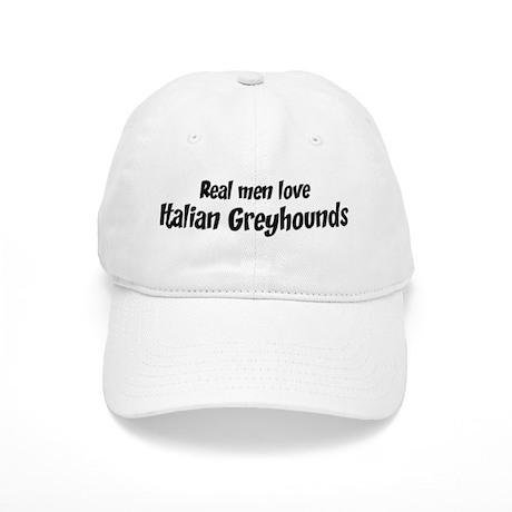 Men have Italian Greyhounds Cap