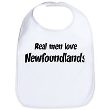 Men have Newfoundlands Bib